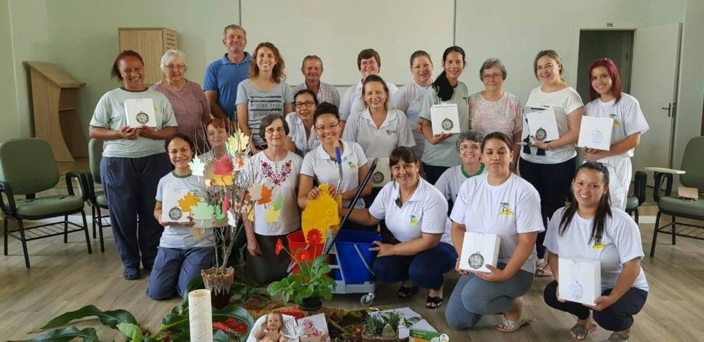 Celebração Natalina com Funcionários